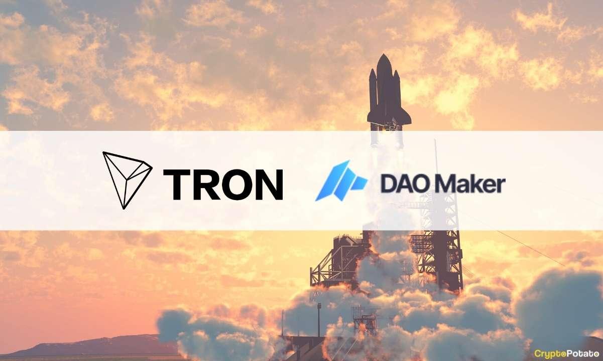 DAO Maker Brings Its Token Launch Framework to TRON