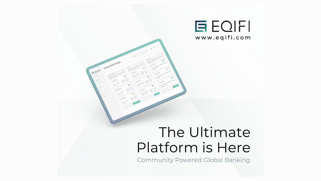 EQIFI Brings DeFi Functionality to the Banking Sector