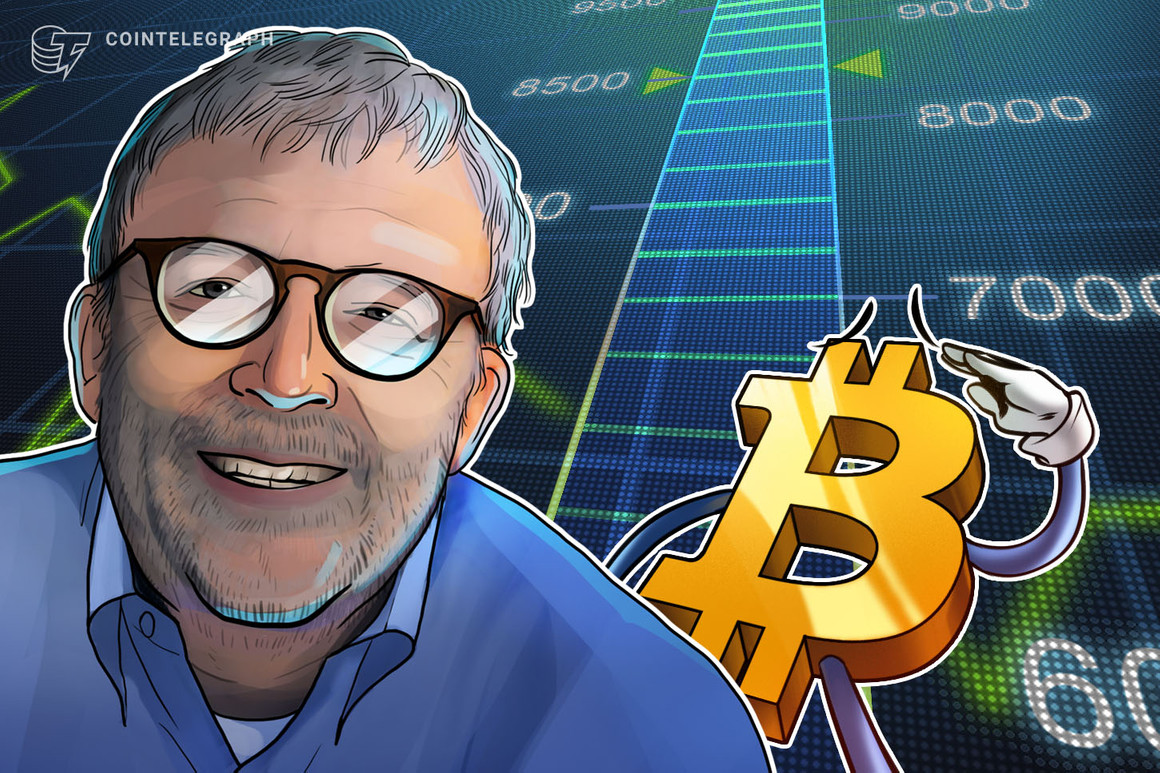 Peter Brandt: 'Laser eyes' to blame for Bitcoin correction — but it's 'very mild' anyway