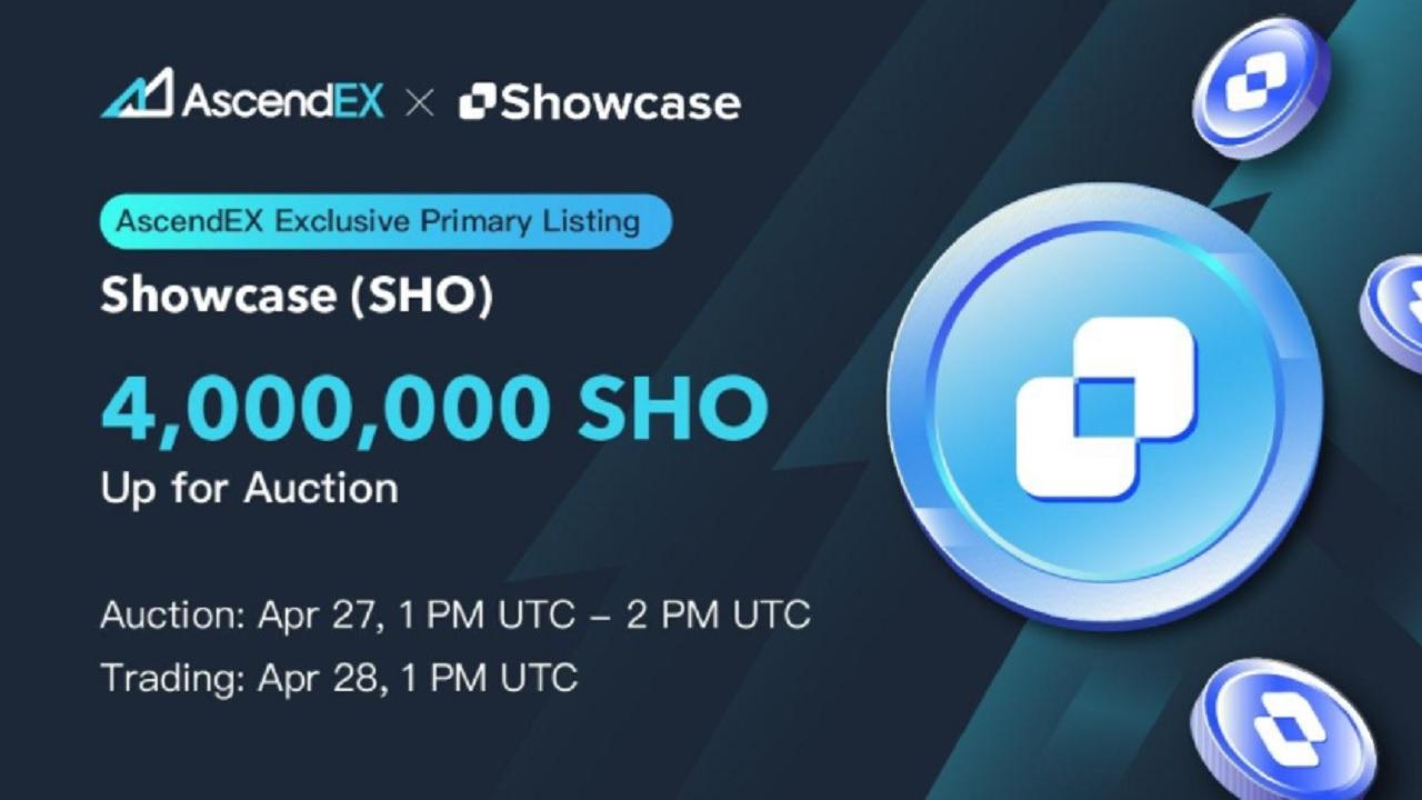 Showcase Listing on AscendEX