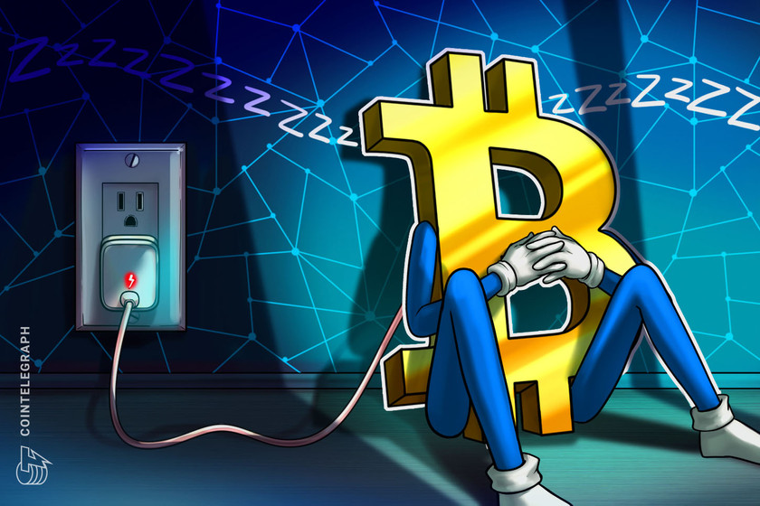 Bitcoin electricity consumption falls to November 2020 levels: Data