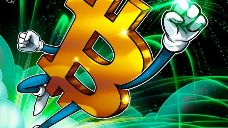 Bitcoin gains $2K in an hour after BTC price bounces near previous all-time high
