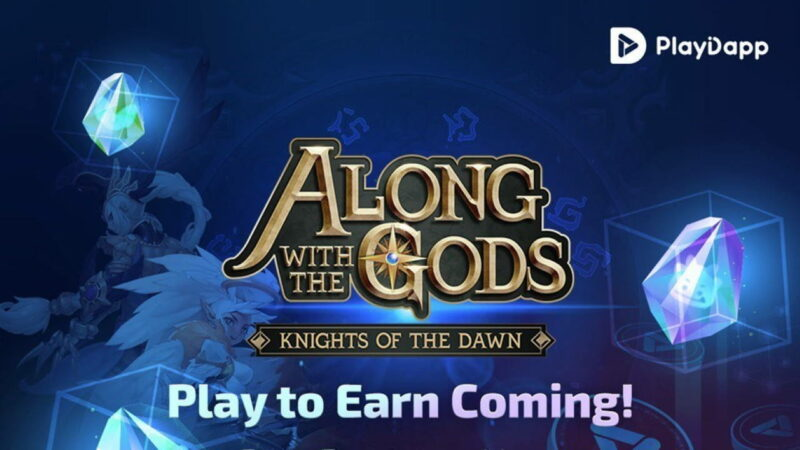 """Play-to-Earn on Playdapp's Flagship RPG """"Along With the Gods: Knights of the Dawn"""" in 7 Days"""