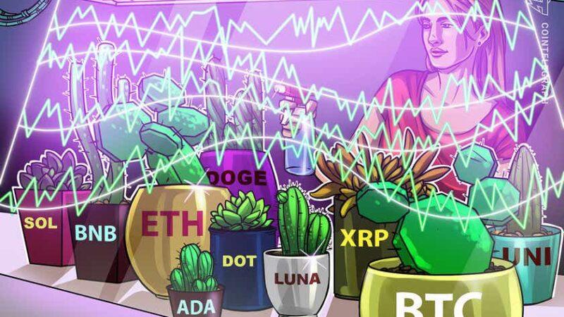 Price analysis 10/11: BTC, ETH, BNB, ADA, XRP, SOL, DOGE, DOT, LUNA, UNI