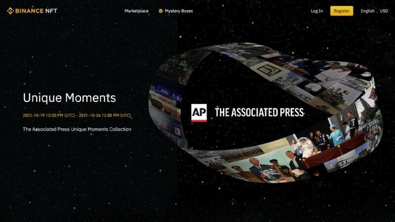 The Associated Press Auctions New NFTs and Human History emerges as a New, Valuable Market for…