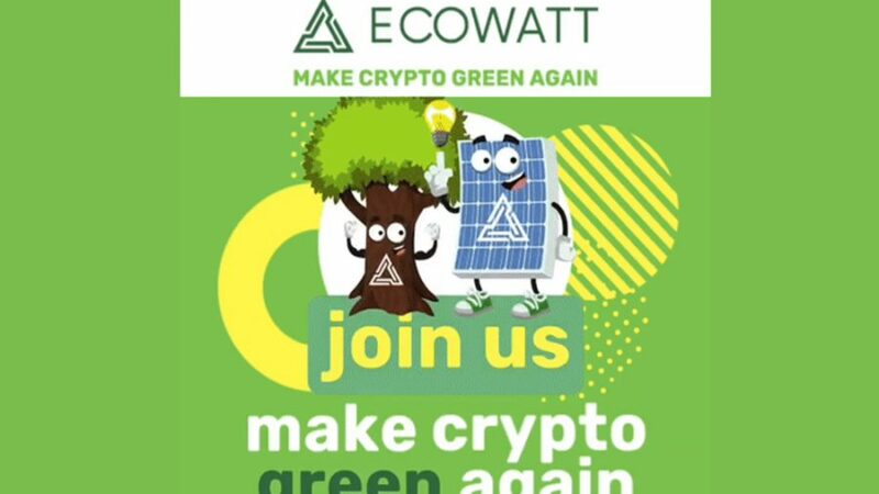 The EcoWatt Blockchain Project Joins trees.org to Lift 500 Families Out of Poverty and Plant 1 Million Trees